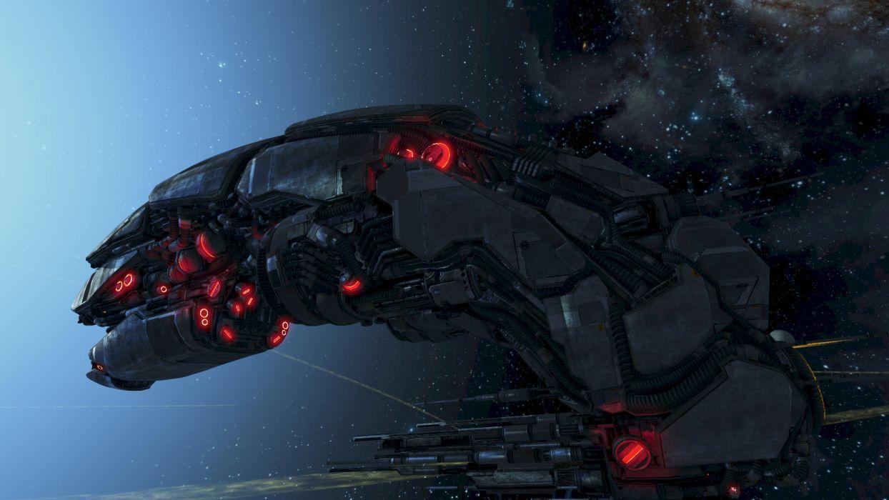 X-REBIRTH sci-fi spaceship rebirth (54) wallpaper