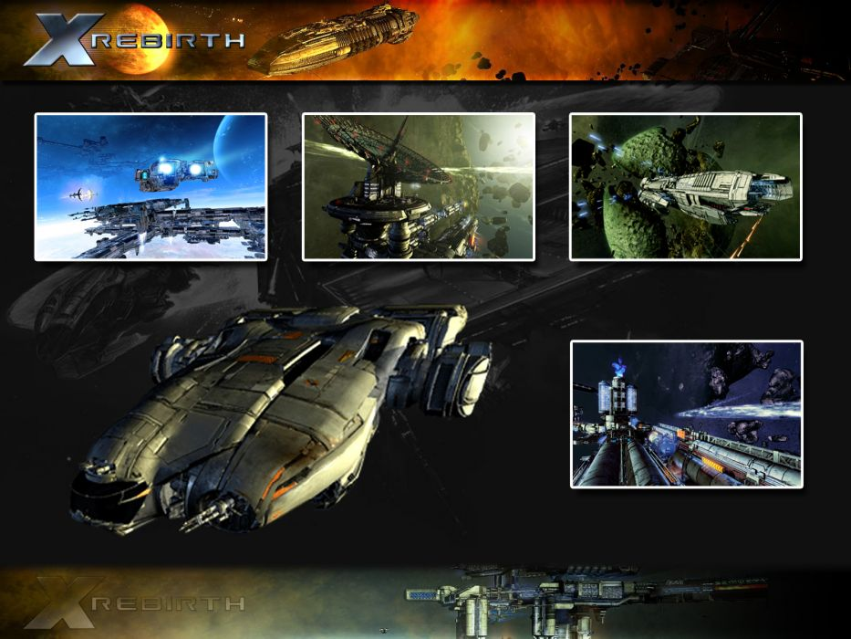 X-REBIRTH sci-fi spaceship rebirth (60) wallpaper