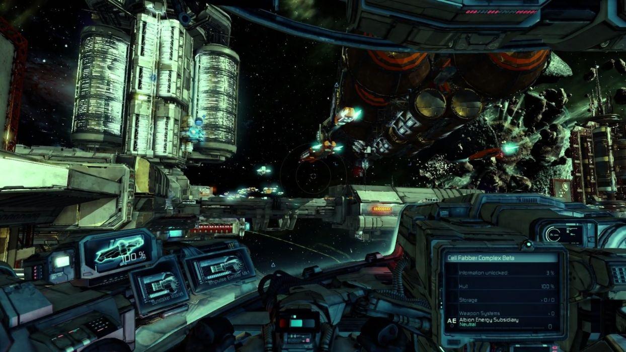 X-REBIRTH sci-fi spaceship rebirth (64) wallpaper