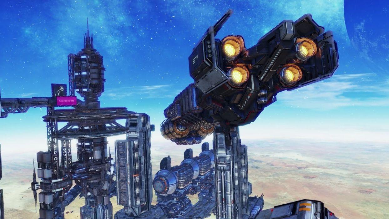 X-REBIRTH sci-fi spaceship rebirth (65) wallpaper
