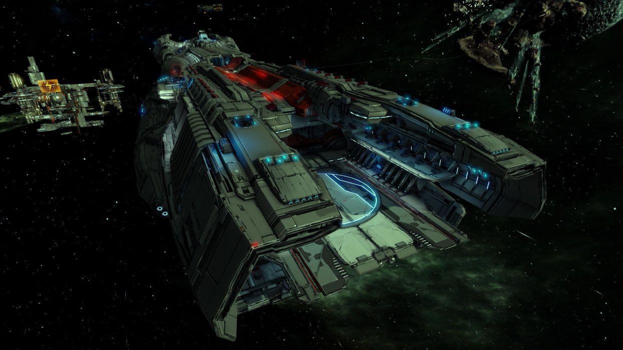 X-REBIRTH sci-fi spaceship rebirth (69) wallpaper