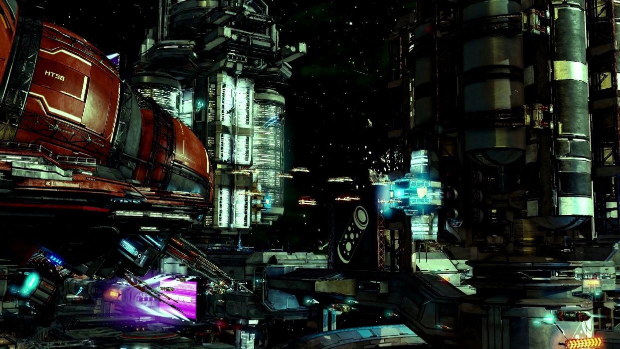 X-REBIRTH sci-fi spaceship rebirth (75) wallpaper