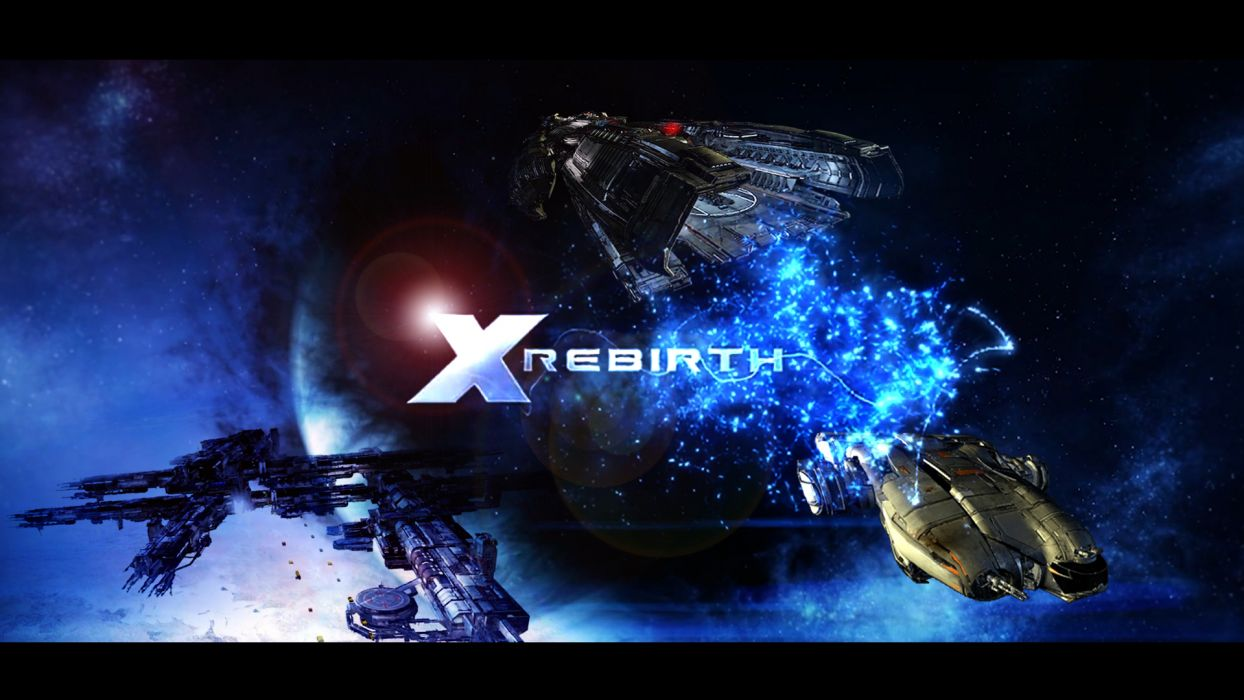 X-REBIRTH sci-fi spaceship rebirth (74) wallpaper