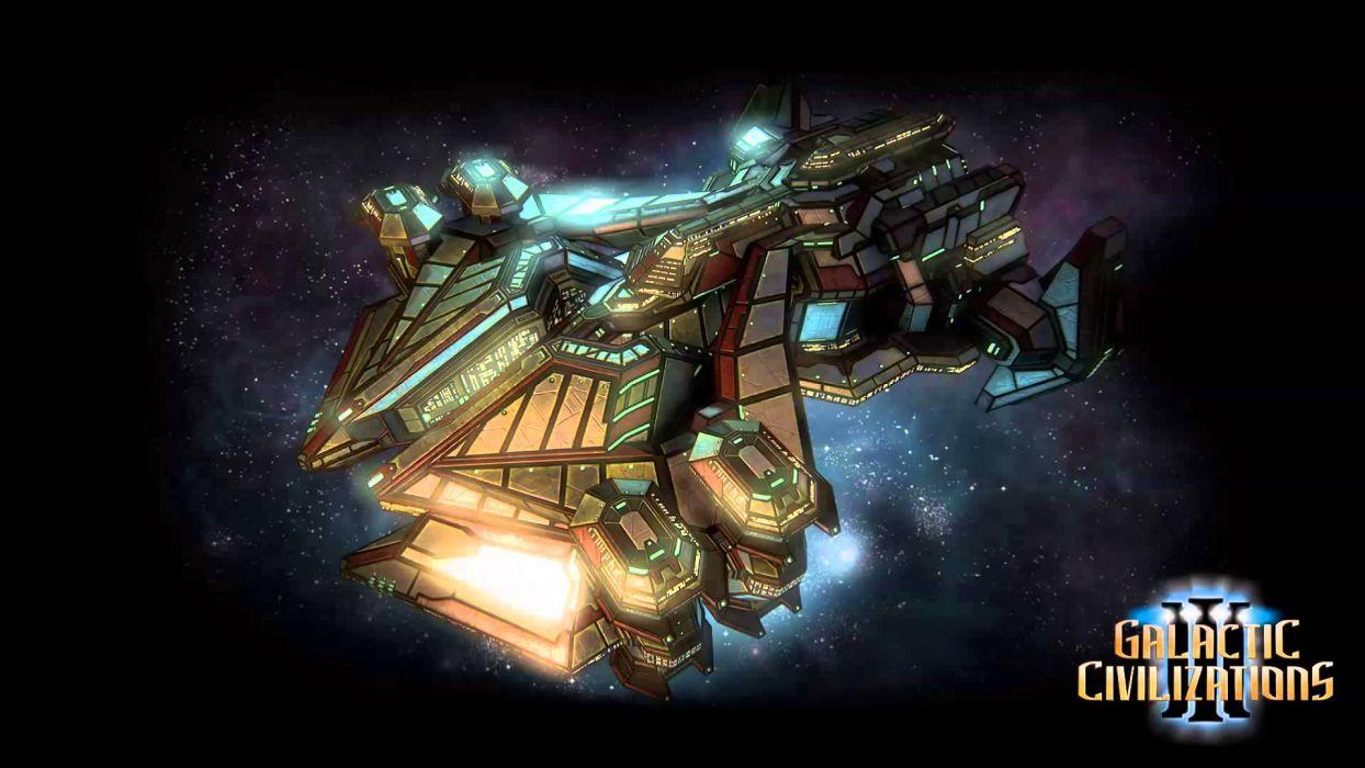 GALACTIC-CIVILIZATIONS sci-fi spaceship galactic civilizations (17) wallpaper