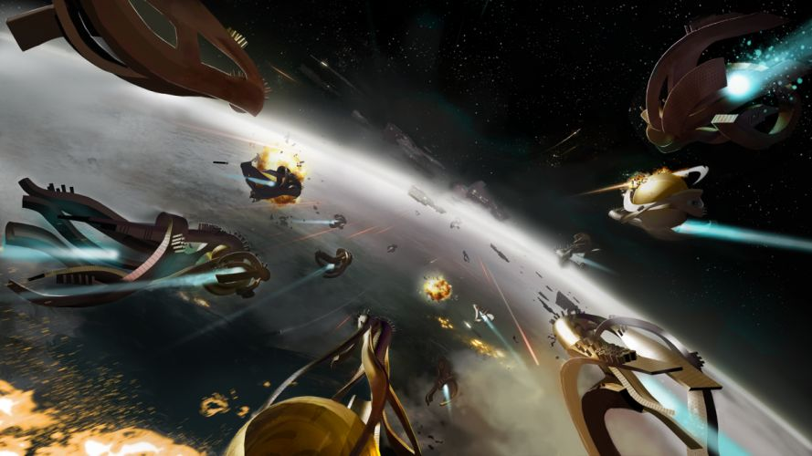 ENDLESS-SPACE sci-fi spaceship endless space (5) wallpaper