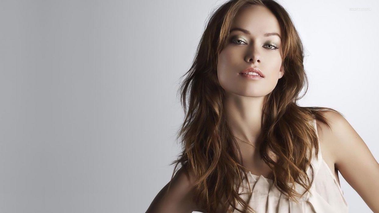 women models Olivia Wilde wallpaper