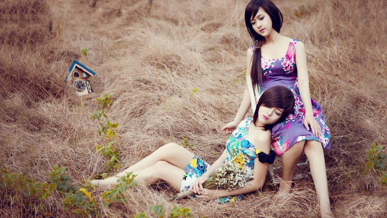 women Asians oriental Lilly Luta UyAIA wallpaper