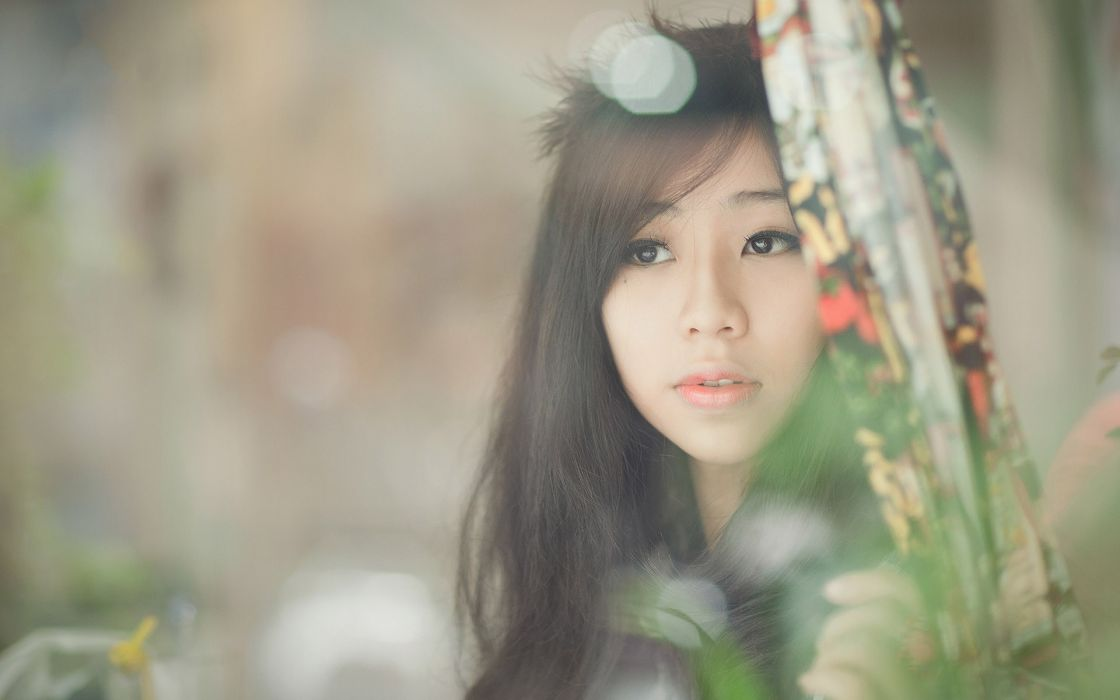 women Asians Vietnamese wallpaper