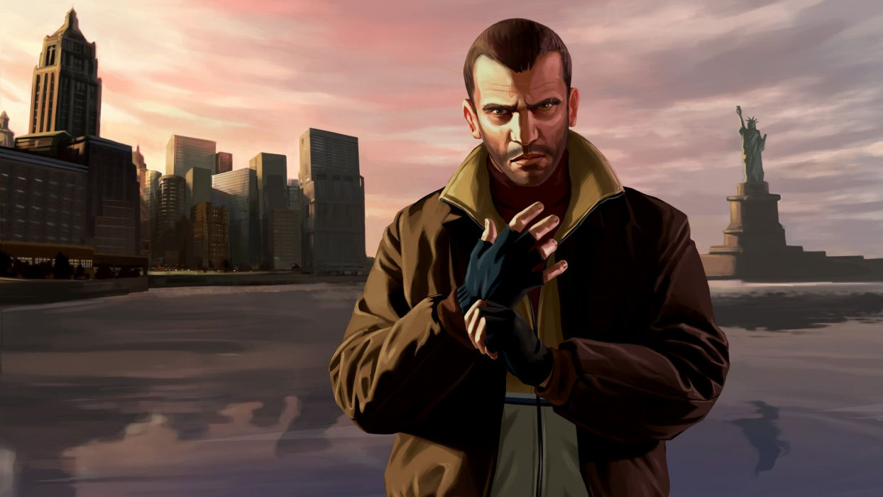 Video Games Grand Theft Auto Niko Bellic Gta Iv Wallpaper