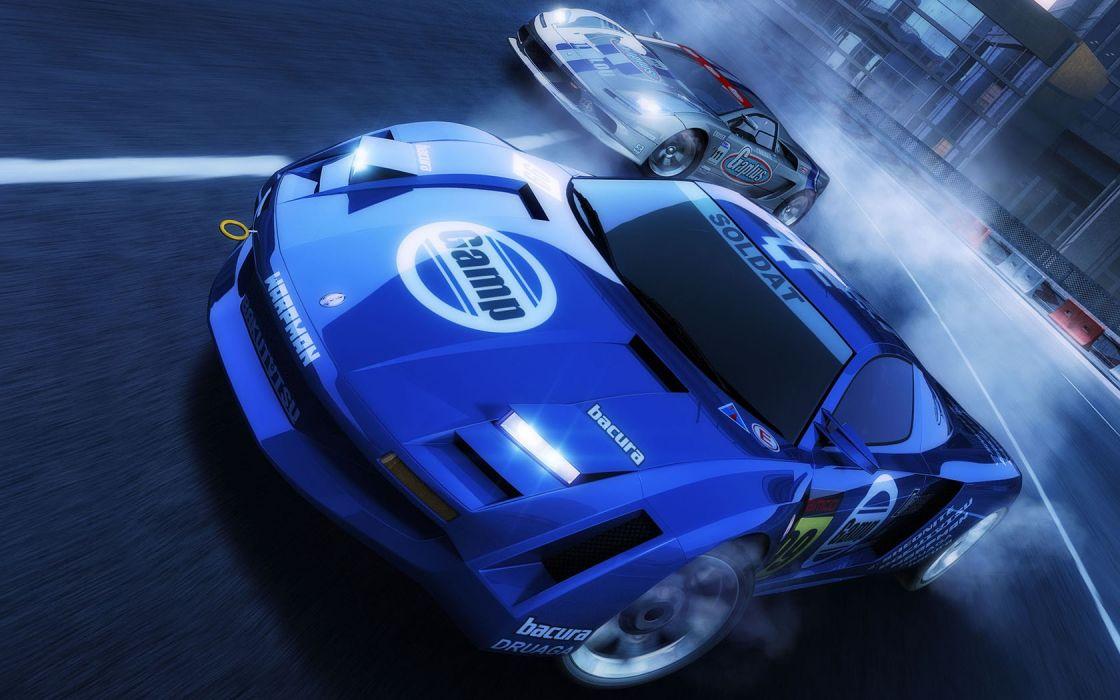 video games cars CGI wallpaper