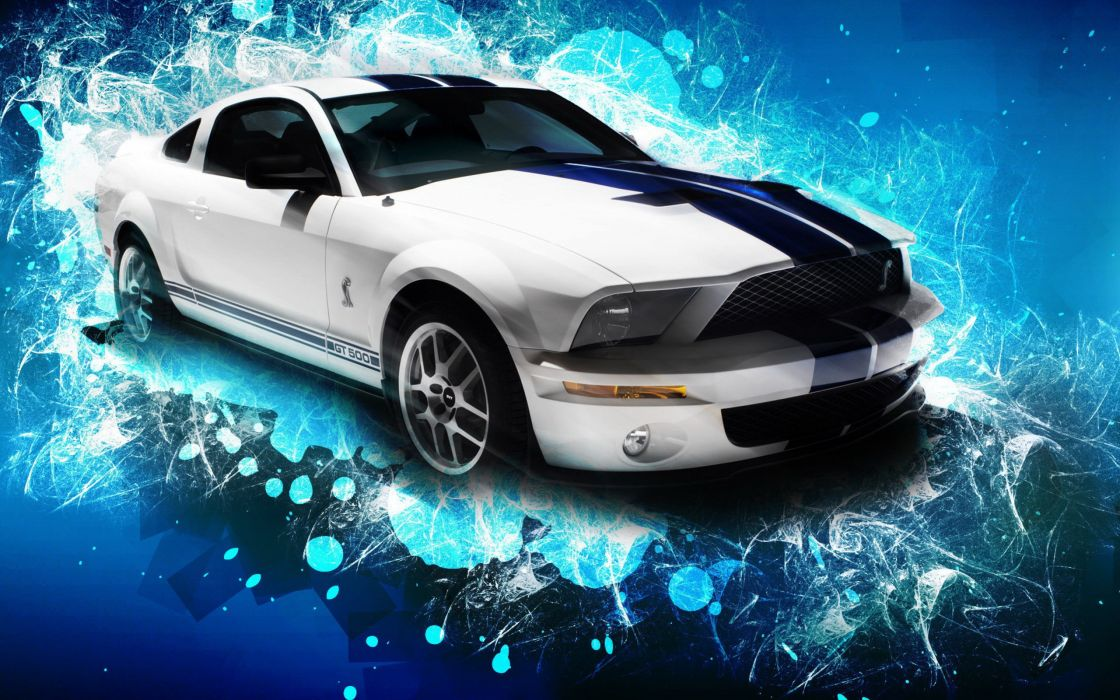 cars vehicles Ford Mustang Shelby GT500 Shelby GT500 wallpaper
