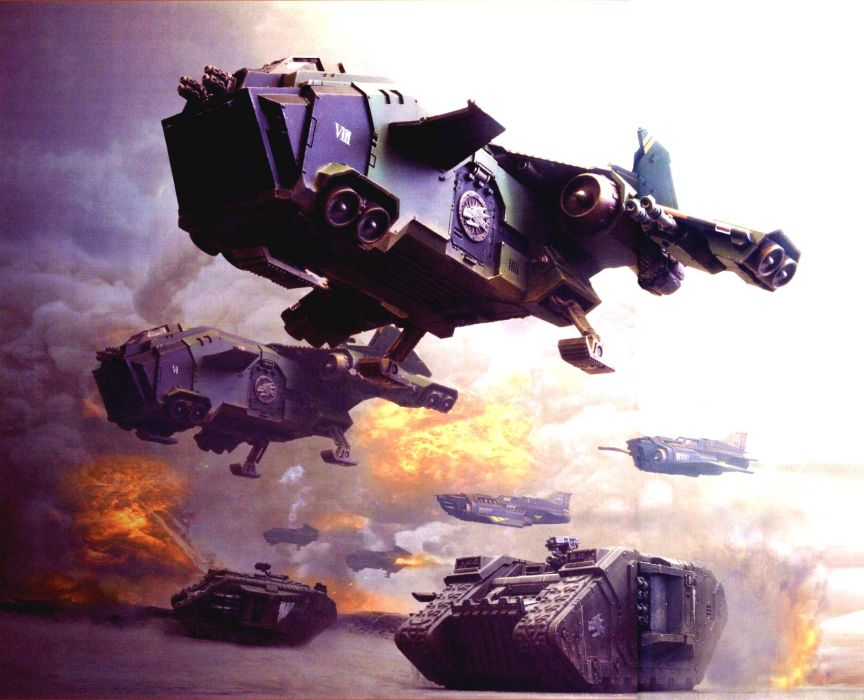 WARHAMMER sci-fi (36) wallpaper