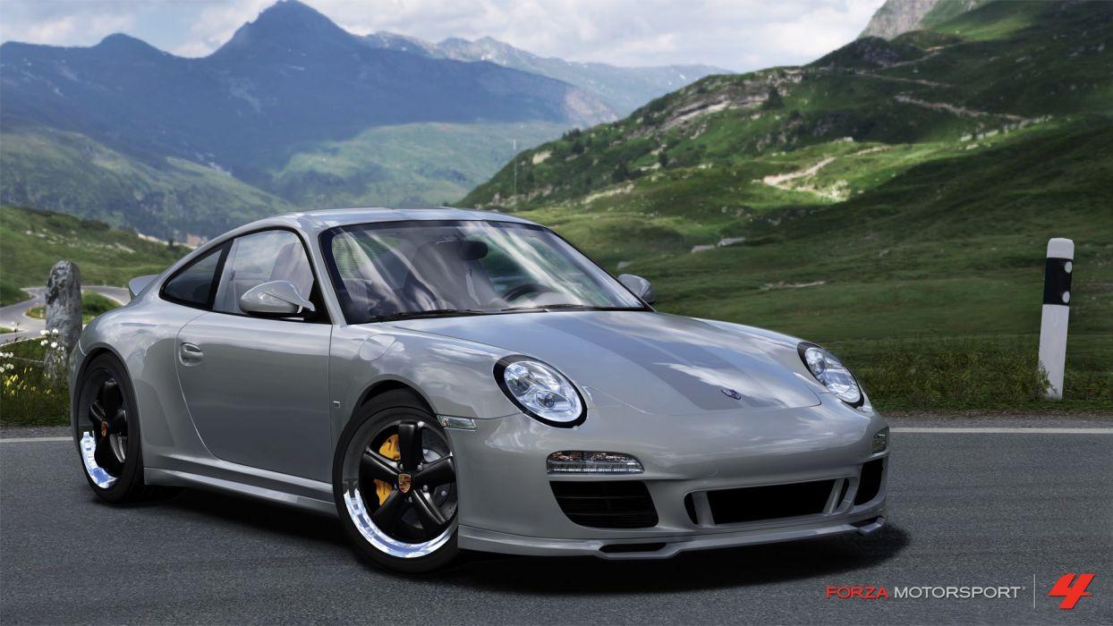 video games cars Xbox 360 Porsche 911 Forza Motorsport 4 wallpaper