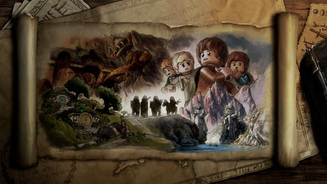 rings The Lord of the Rings artwork The Fellowship of the Ring Legos LEGO The Lord Of The Rings wallpaper