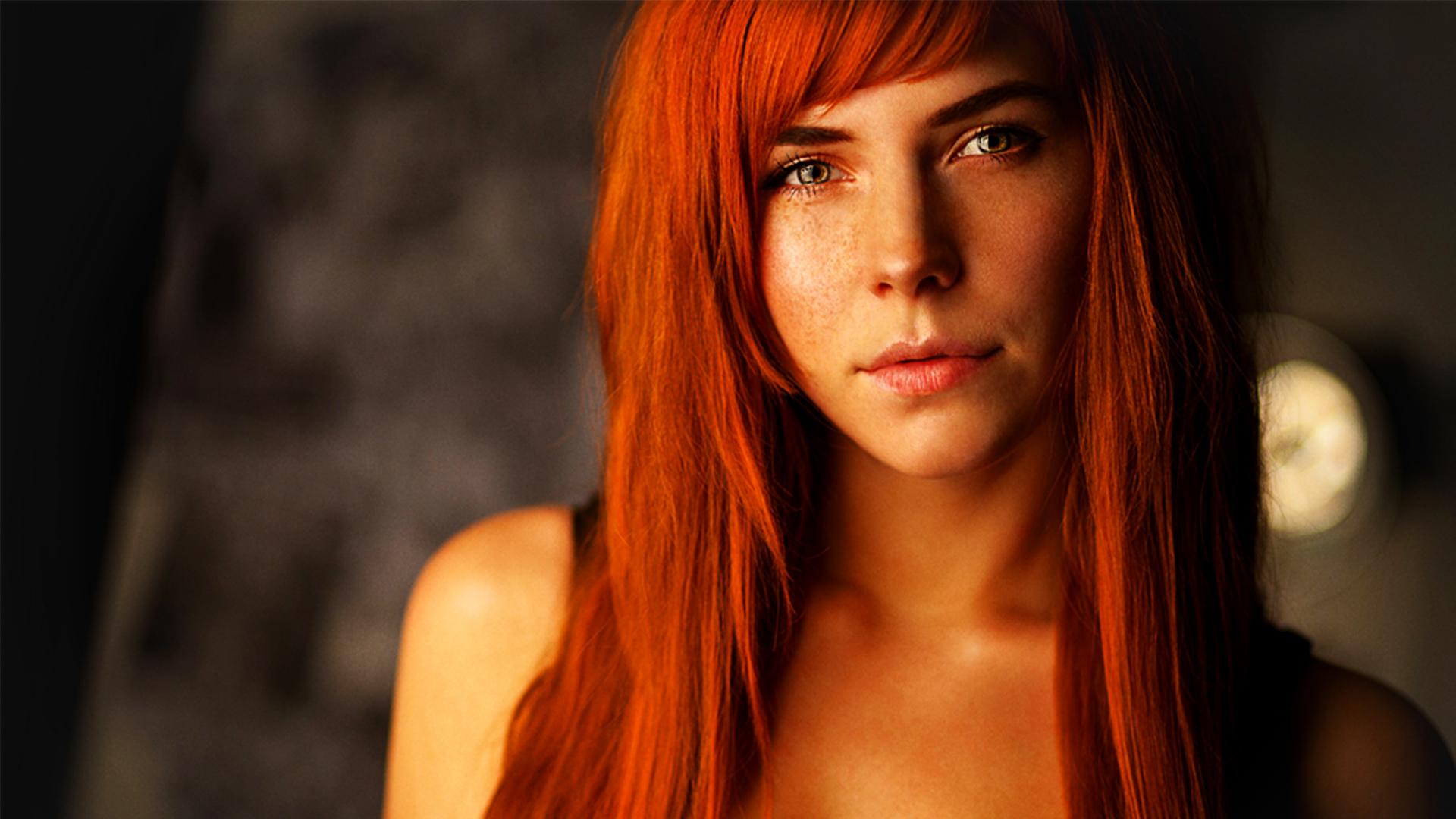Фото рыжая конопатая девушка 10 фотография