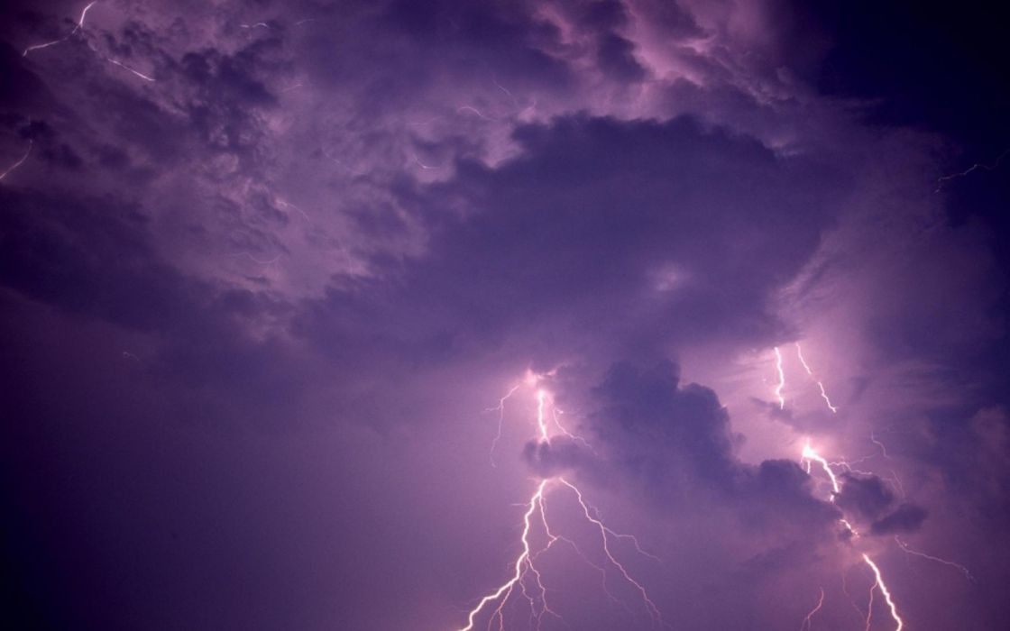 nature lightning Force of Nature wallpaper