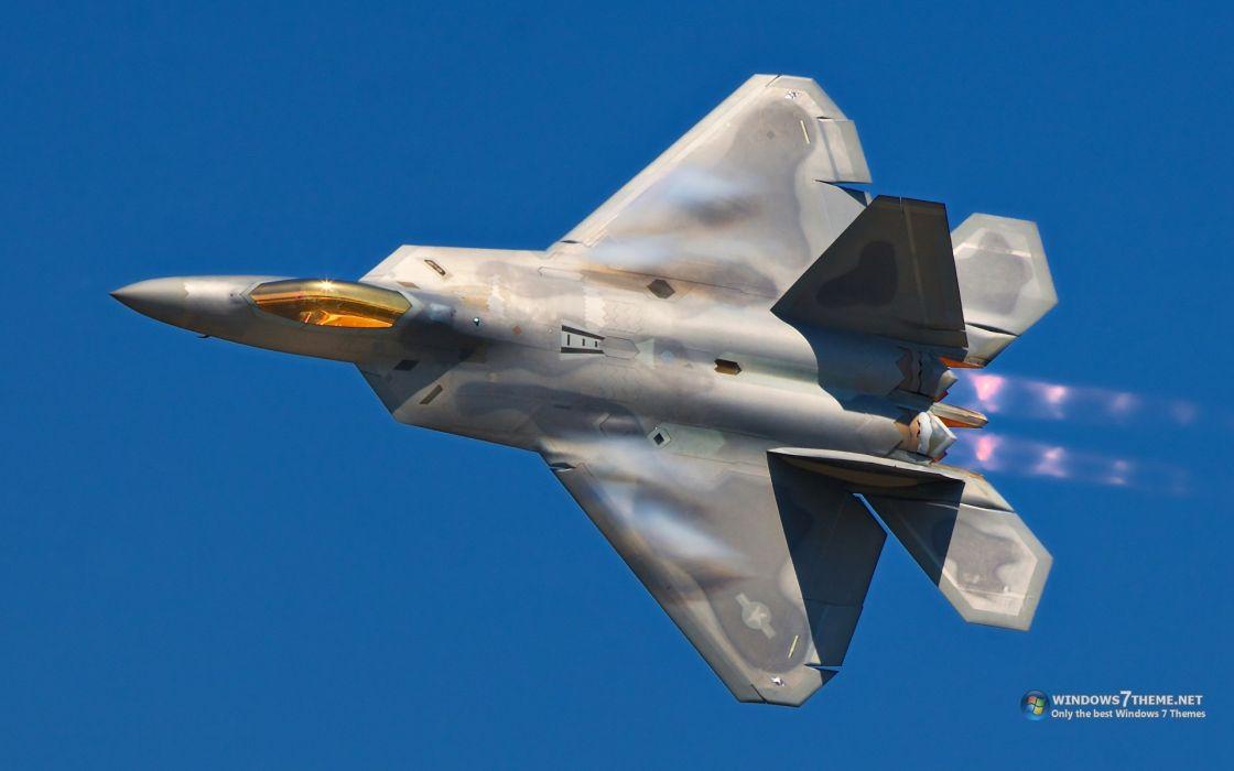 aircraft fighter jets f22 raptor wallpaper