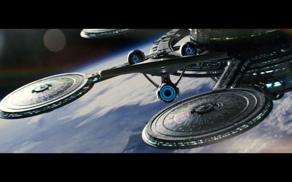 Star Trek space station wallpaper