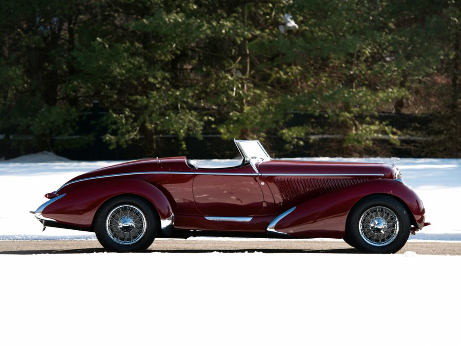 1935 Amilcar Pegase G36 Racer retro supercar roadster  e wallpaper