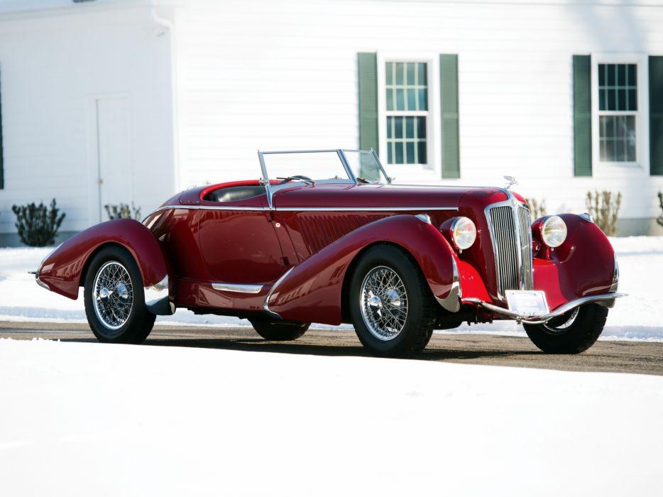 1935 Amilcar Pegase G36 Racer retro supercar roadster d wallpaper