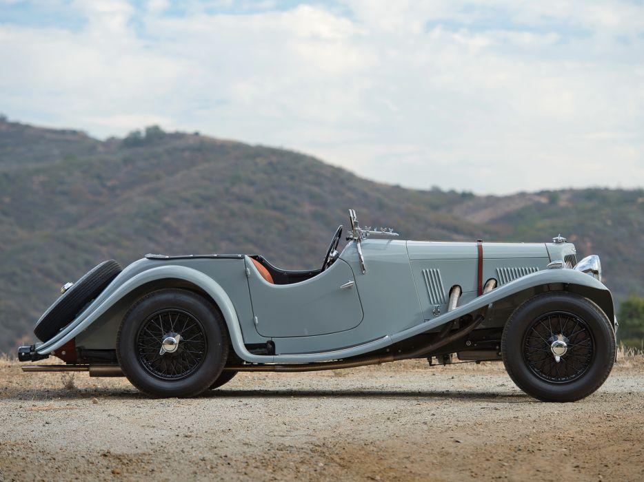 1938 Aston Martin 15-98 retro   t wallpaper