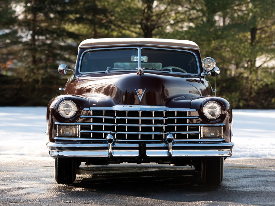 1947 Cadillac Sixty Two Convertible retro luxury s wallpaper