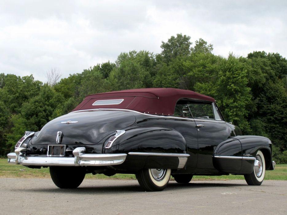 1947 Cadillac Sixty Two Convertible retro luxury i wallpaper