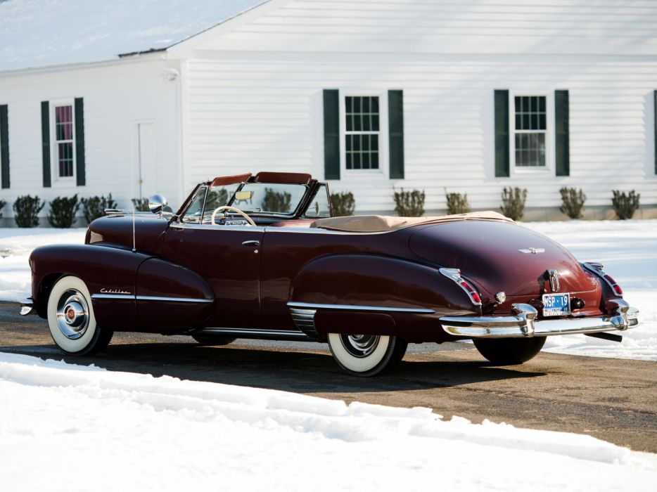 1947 Cadillac Sixty Two Convertible retro luxury r wallpaper