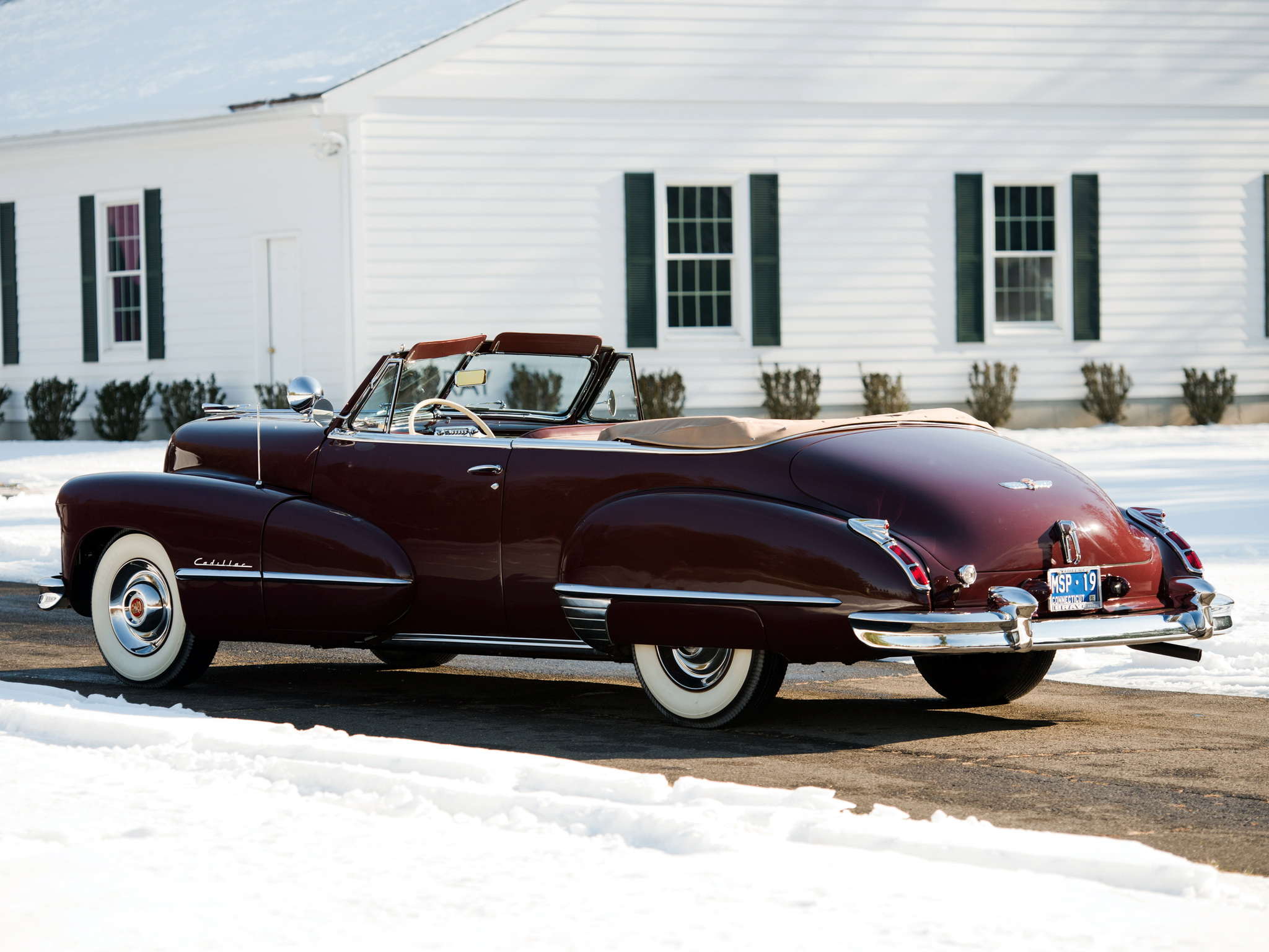 1947 Cadillac Sixty Two Convertible Retro Luxury R