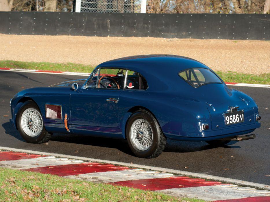 1950-53 Aston Martin DB2 Vantage Saloon retro race racing   h wallpaper