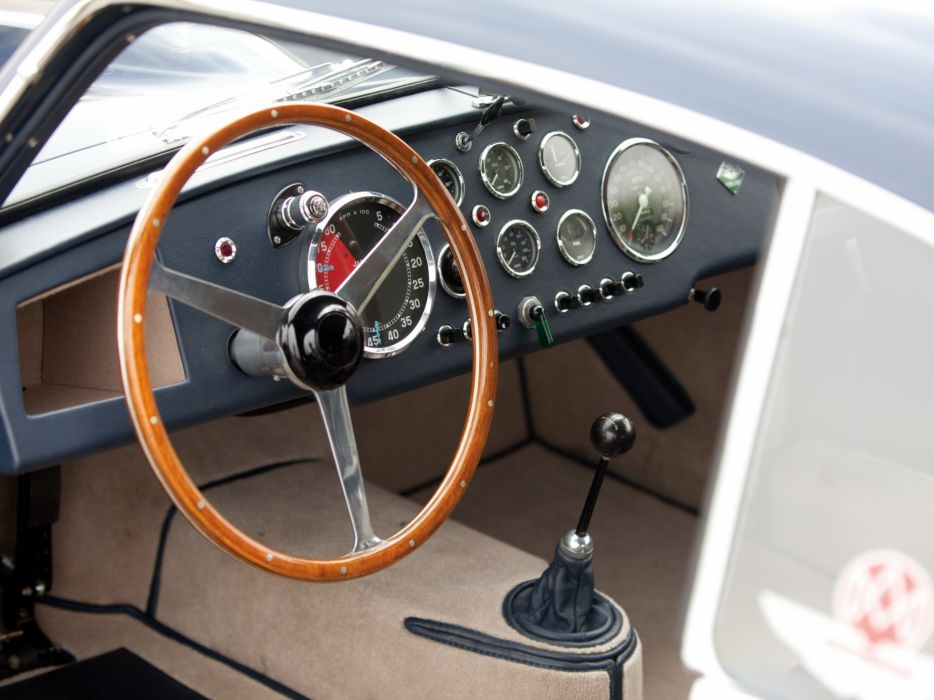 1950-53 Aston Martin DB2 Vantage Saloon retro interior  t wallpaper