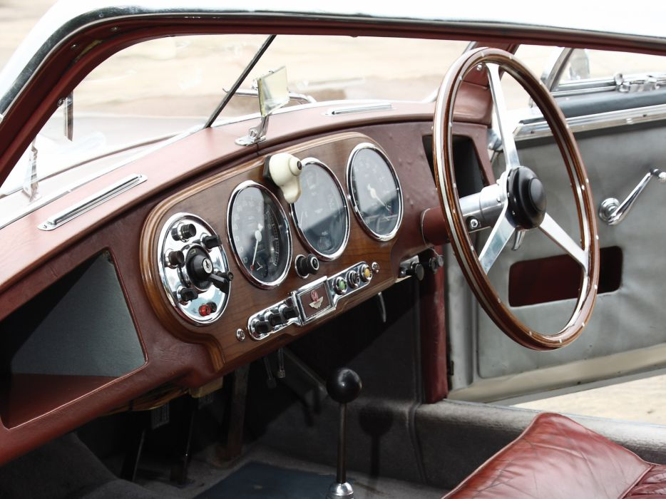 1950-53 Aston Martin DB2 Vantage Saloon retro interior  j wallpaper