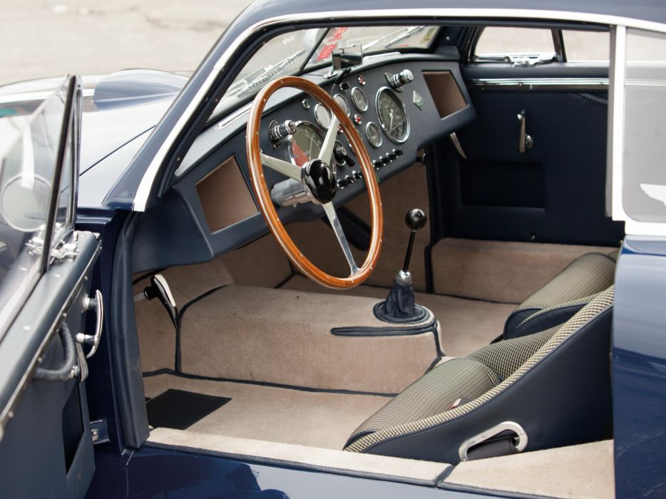 1950-53 Aston Martin DB2 Vantage Saloon retro interior    h wallpaper