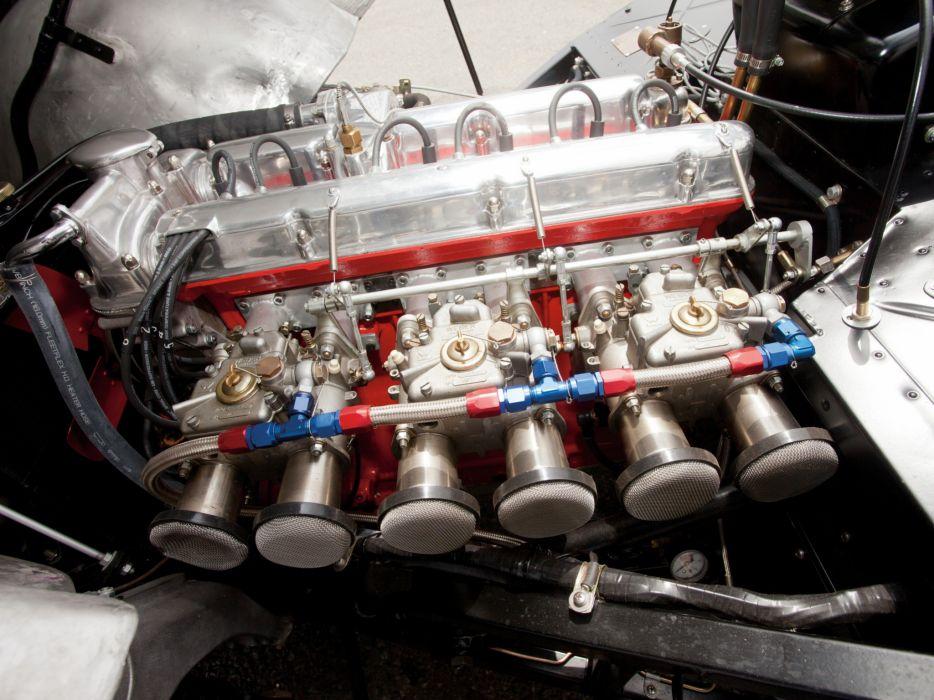 1950-53 Aston Martin DB2 Vantage Saloon retro engine    g wallpaper