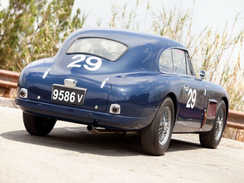 1950-53 Aston Martin DB2 Vantage Saloon retro  d wallpaper