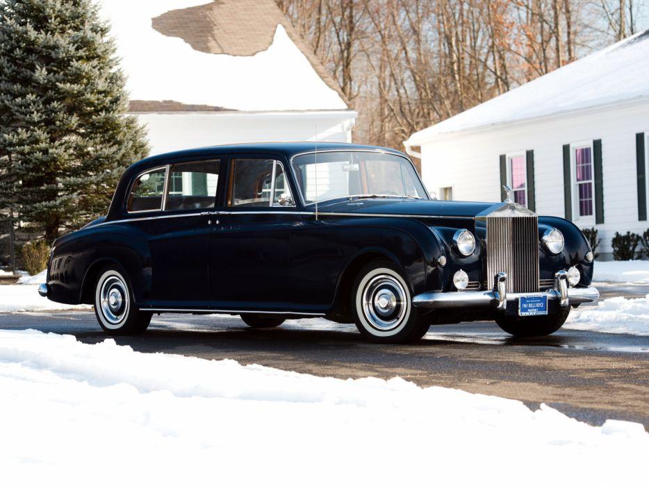 1959-63 Rolls Royce Phantom V Park Ward Limousine luxury retro classic   d wallpaper