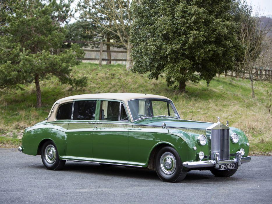 1959-63 Rolls Royce Phantom V Park Ward Limousine luxury retro classic  fd wallpaper