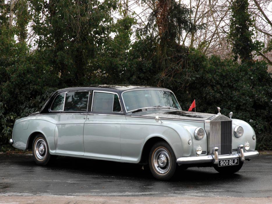 1959-63 Rolls Royce Phantom V Park Ward Limousine luxury retro classic  rr wallpaper