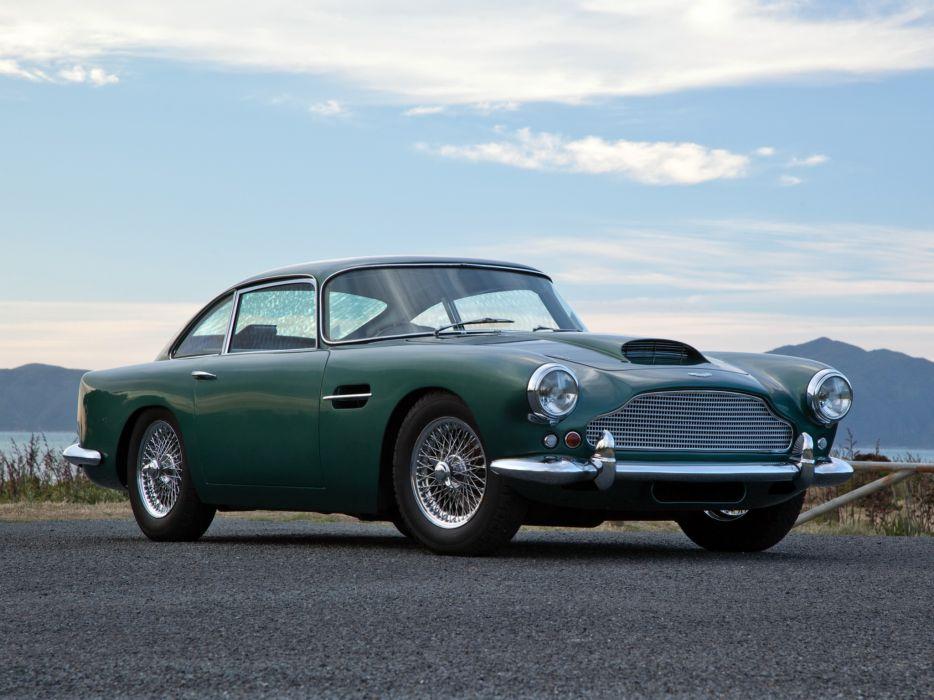 1960 Aston Martin DB4 UK-spec (Series-II) classic  w wallpaper