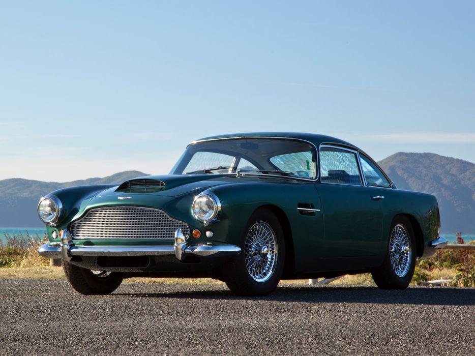 1960 Aston Martin DB4 UK-spec (Series-II) classic  t wallpaper