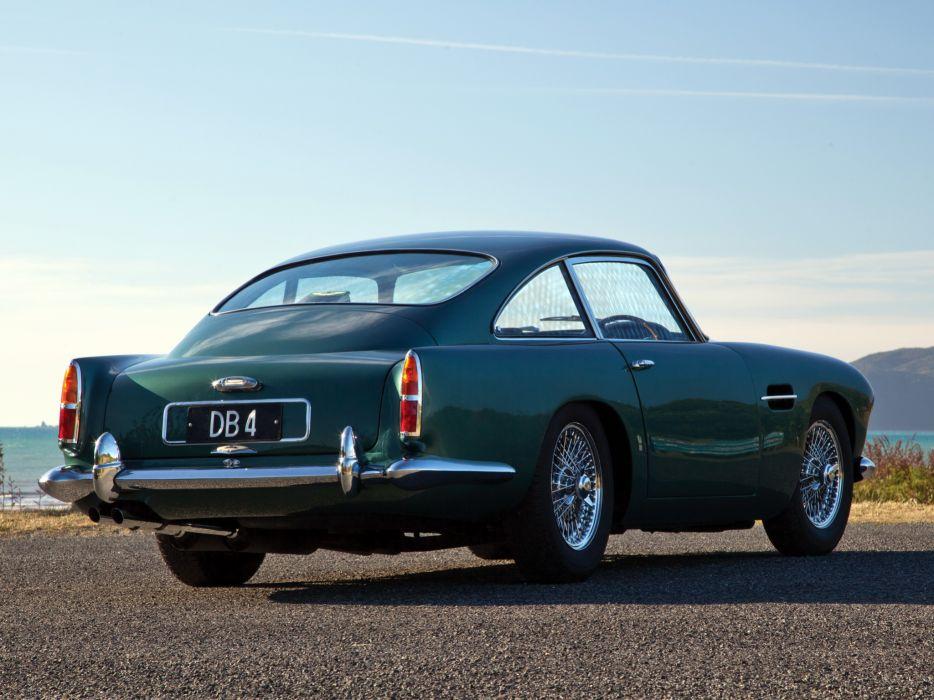1960 Aston Martin DB4 UK-spec (Series-II) classic   f wallpaper