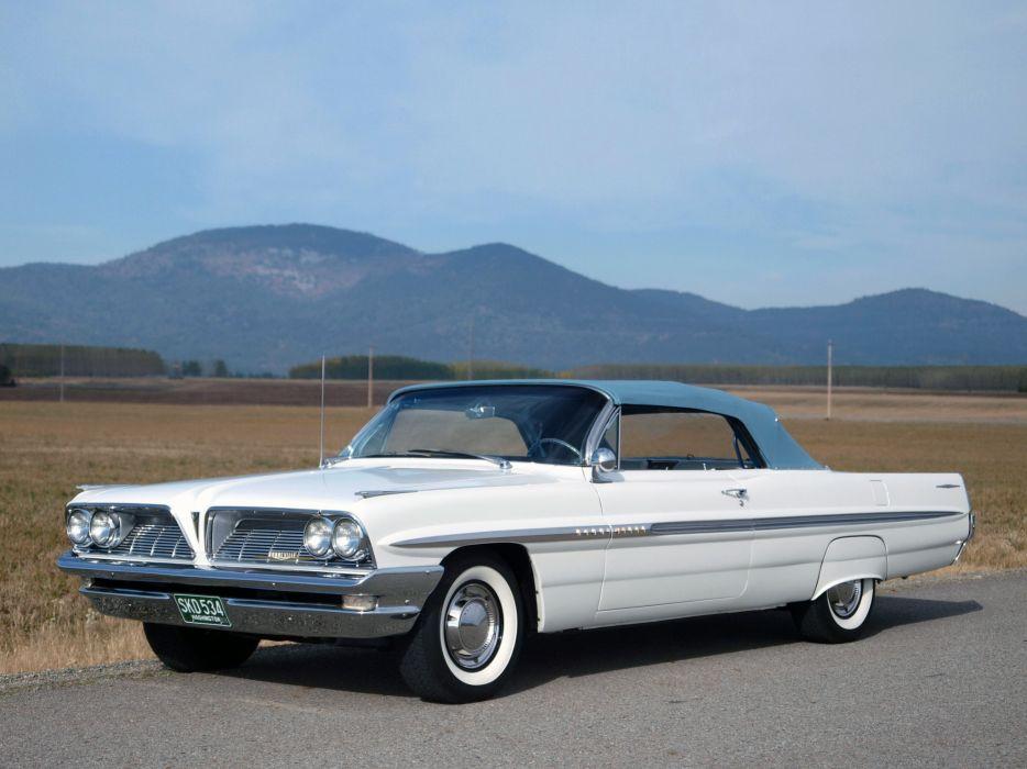 1961 Pontiac Bonneville Convertible (2867) classic  v wallpaper