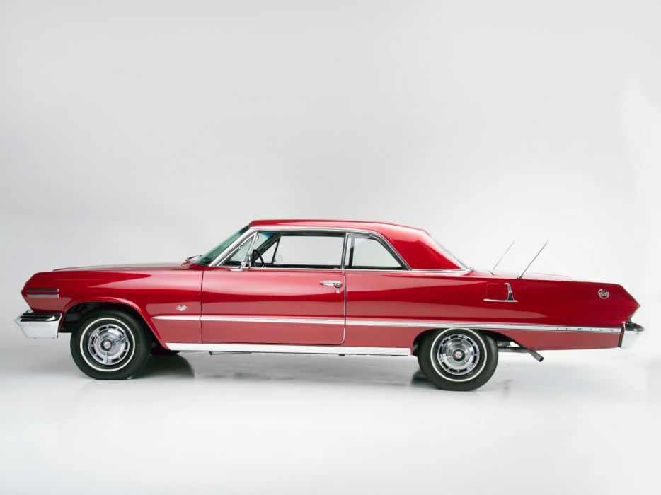 1963 Chevrolet Impala S-S 327 300HP Sport Coupe (1847) muscle classic   s wallpaper