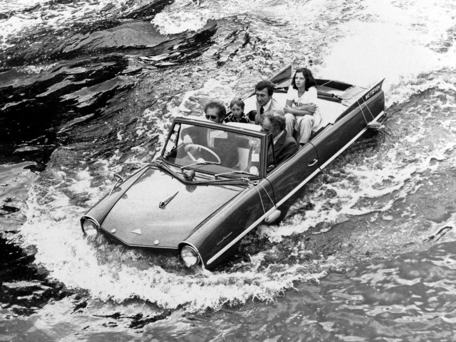 1964 Amphicar 770 Convertible UK-spec boat ship classic     g wallpaper