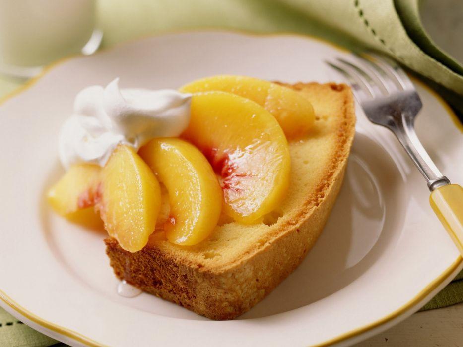 food peaches wallpaper