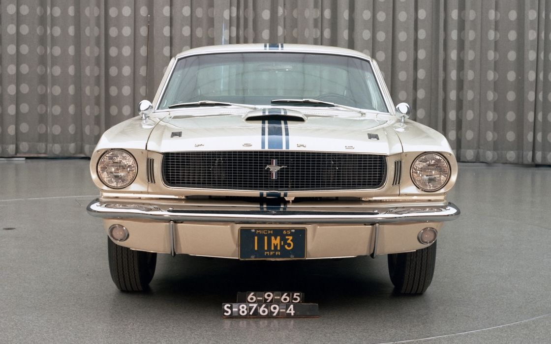 1965 Ford Mustang Fastback EBF II muscle classic  f wallpaper