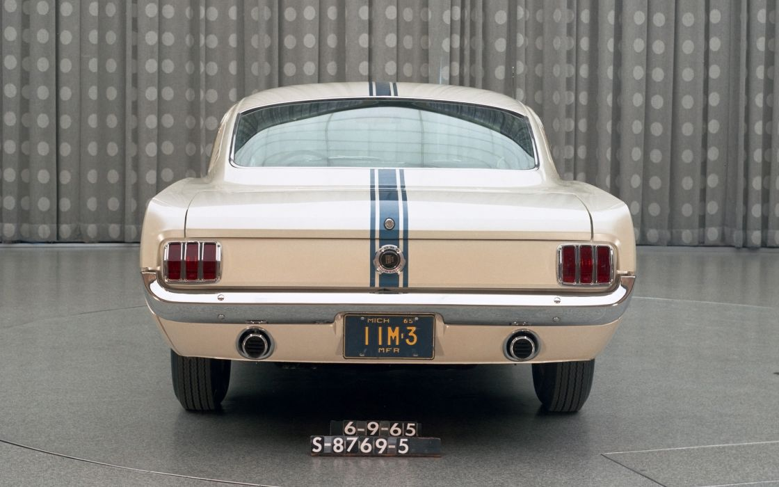 1965 Ford Mustang Fastback EBF II muscle classic   g wallpaper