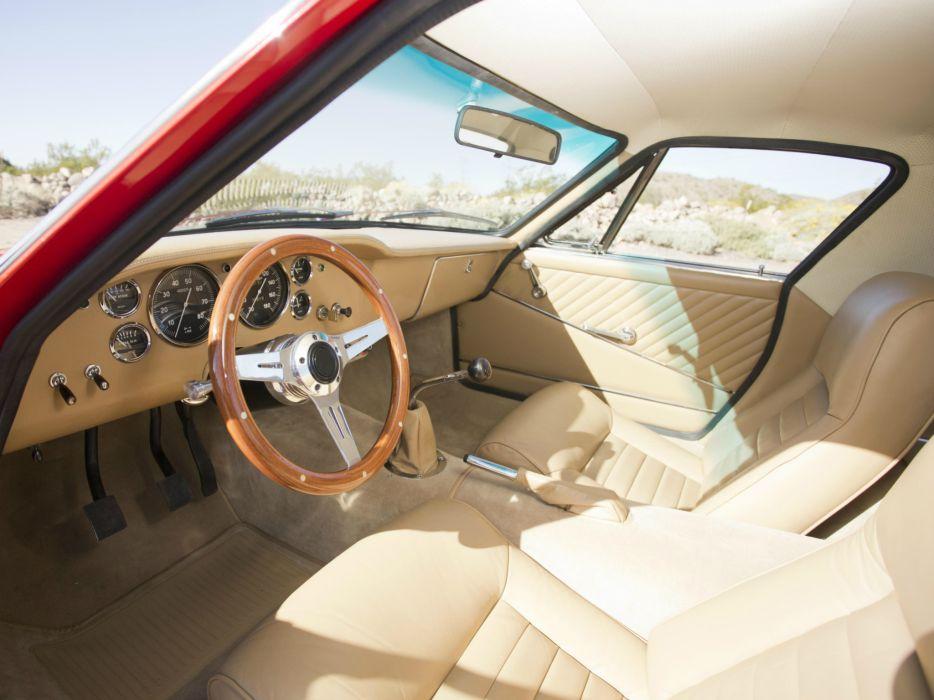 1966-70 Intermeccanica Omega supercar classic interior    f wallpaper