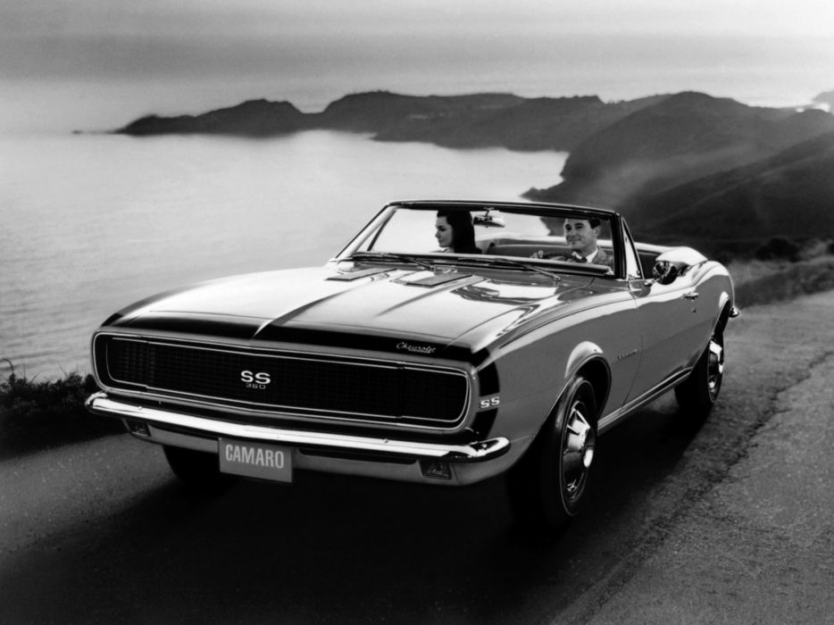 1967 Chevrolet Camaro R-S S-S 350 Convertible (12467) muscle classic    f wallpaper