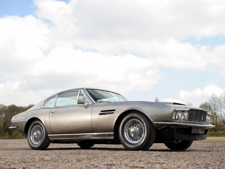 1967-72 Aston Martin DBS Vantage supercar classic  d wallpaper